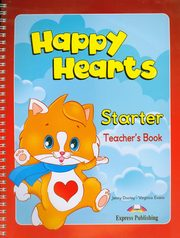 ksiazka tytuł: Happy Hearts Starter Teacher's Book autor: Dooley Jenny, Evans Virginia