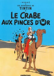 Tintin Le Crabe aux pinces d'or, Herge